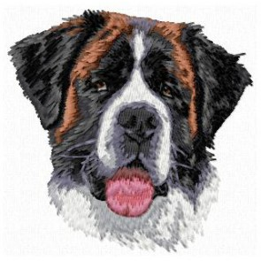 Saint Bernard Dog - DD145