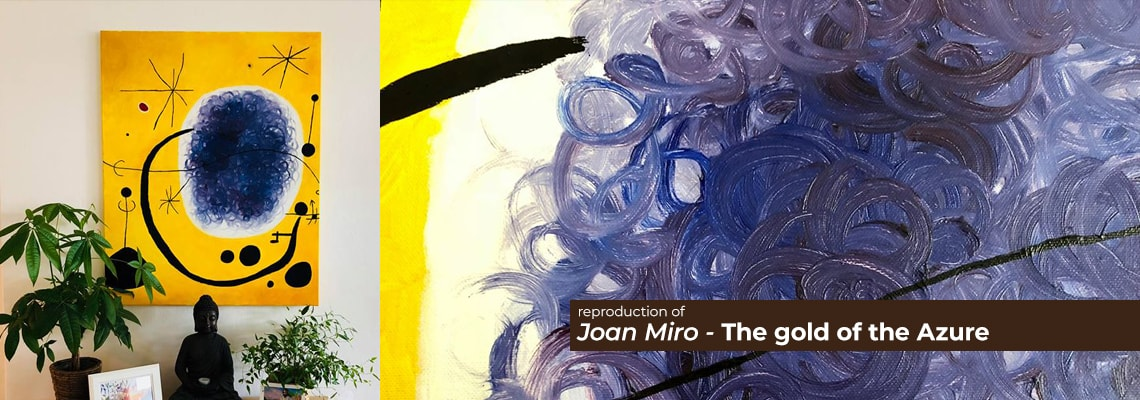 Joan Miro - The gold of the Azure