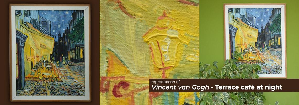 Vincent Van Gogh - Terrace café at night