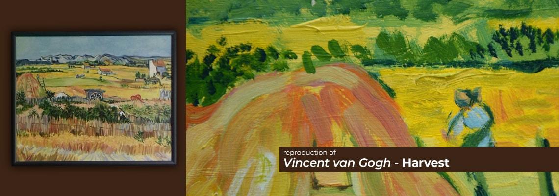 Vincent Van Gogh - Harvest