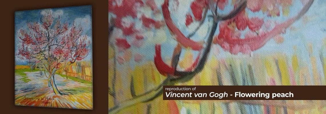 Vincent Van Gogh - Flowering peach
